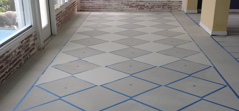 My Hand Painted Checkered Floors 365 Days Of Awesome